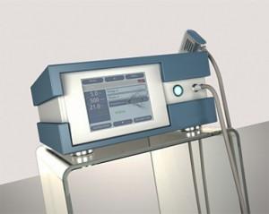 Система для высокочастотной радиальной ударно-волновой терапии