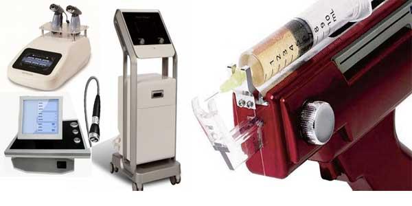 радиочастотный лифтинг (RF), мезотерапия, электропорация, другие